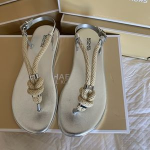 Micheal Kors Rope Sandals
